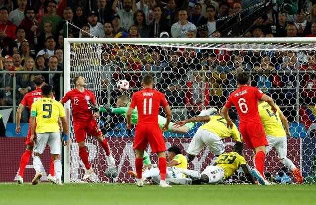 Đó là bàn thắng thứ 3 của hậu vệ này tại World Cup và đều đến từ những pha đánh đầu