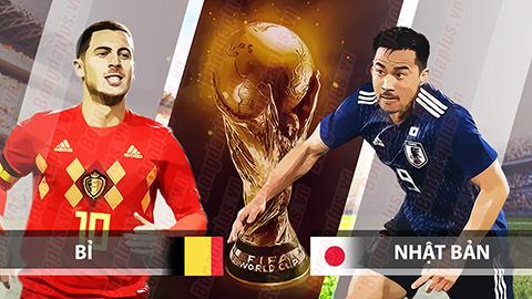 Nhận định bóng đá Bỉ vs Nhật Bản, 01h00 ngày 3/7: Hết rồi, cổ tích!