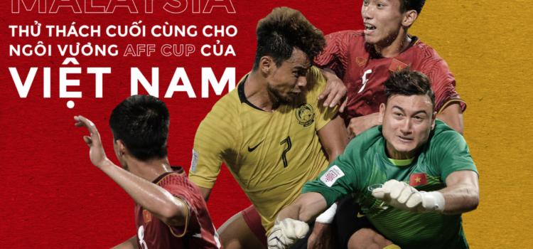 """[AFF CUP 2018] Malaysia """"thử thách cuối cùng"""" cho ngôi vương AFF CUP của Việt Nam"""