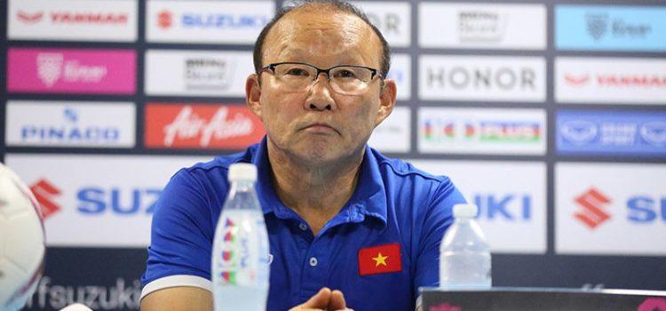 [AFF CUP 2018] HLV Park Hang-seo: 'Chung kết AFF Cup là khoảnh khắc đặc biệt với tôi'