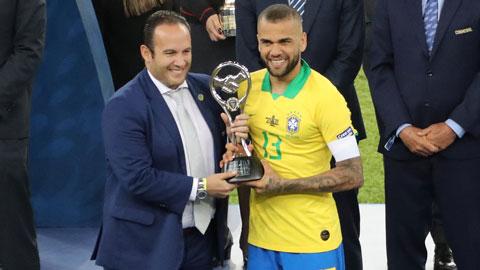 [Chung kết Copa America 2019] Brazil đăng quang
